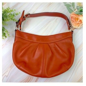 Coach Authentic Leather Hobo Bag
